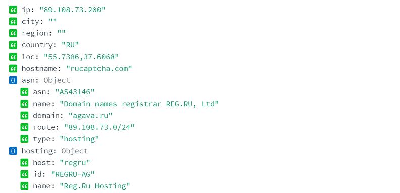 Запись hosting как инструмент для обнаружения ботов